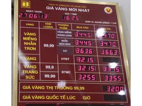 Bang Gia Vang Minh Chau