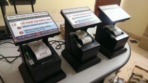 Máy in số thứ tự hệ thống xếp hàng