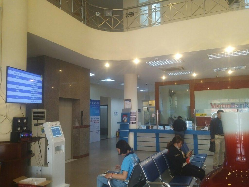 Hệ thống xếp hàng cho ngân hàng Vietinbank