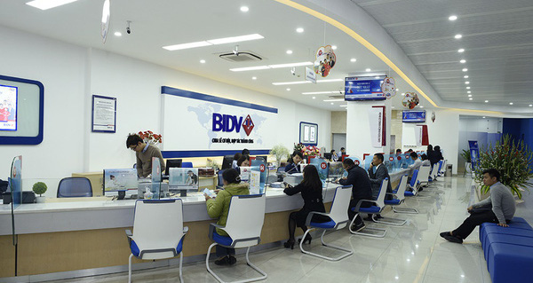 Hệ thống lấy số tự động ngân hàng BIDV