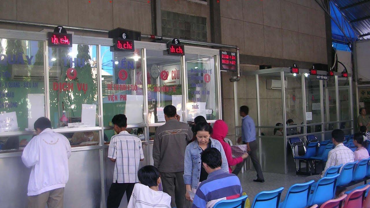 hệ thống xếp hàng cho bệnh viện