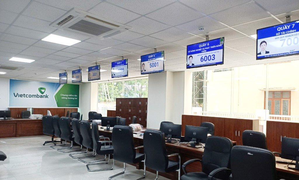 hệ thống xếp hàng thông minh tại ngân hàng